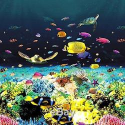 GREAT BARRIER REEF HD OVERLAP Above Ground Pool Liner PREMIUM, EYE POPPING