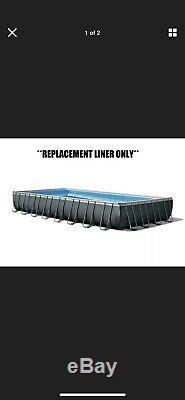 INTEX ULTRA XTR RECTANGULAR 32'x16'x52 ABOVE GROUND POOL REPLACEMENT LINER DM