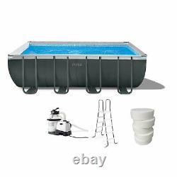 Intex 18' x 52 Ultra XTR Swimming Pool Set with Pump Filter Sanitizing Tabs