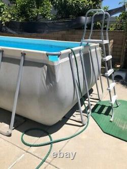 Intex 18Ftx9x52In Ultra XTR Rectangular Swimming Pool withPump Filter PICK UP ONLY