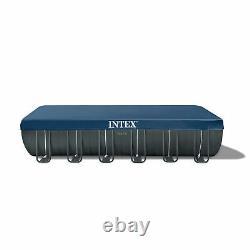 Intex 26363EH 24' x 12' x 52 Rectangular Ultra XTR Frame Swimming Pool with Pump