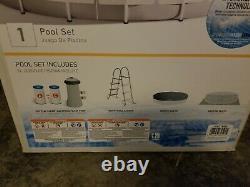 Intex 26719EH Frame Pool Set Light Grey, 14ft x 42in