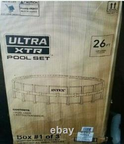Intex 26ft X 52in Ultra XTR Round Pool Liner (LINER ONLY)