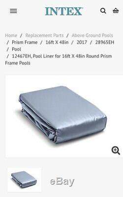 Intex Ultra Frame Round 16 x 48 Swimming Pool Liner