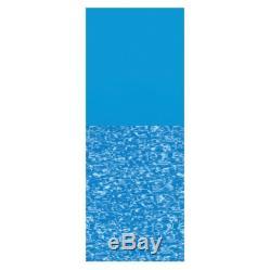LI184820PB Swimline Overlap 18' Round Print Bottom Above Ground Pool Liner