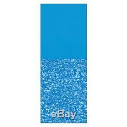 LI274820PB Swimline Overlap 27' Round Print Bottom Above Ground Pool Liner, 48/5