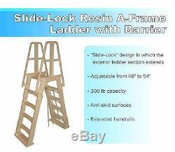 Lake Effect 24' x 52 Round Fallston Swimming Pool Rock Liner & Filter Package