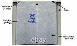 Lake Effect Lifestyle 54 Wall Above Ground Swimming Pool with Liner & Skimmer
