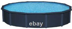 Lake Effect Metropolitan 52 Steel Round or Oval Above Ground Swimming Pool