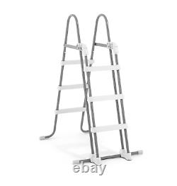 Large SWIMMING POOL Intex 400 x 200 x 122cm Garden Ground Pool +Ladder PUMP GIFT