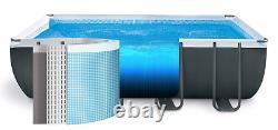 Large SWIMMING POOL Intex 732 x 366 x 132cm Garden Ground Pool +Ladder PUMP GIFT