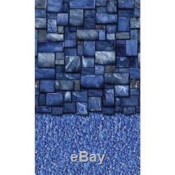 Latham 27' Round Blue Slate 52 EZ-Bead Above Ground Pool Liner