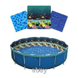 LinerWorld Relining Pool Liner Kit for Intex and Tube Metal Frame Pools