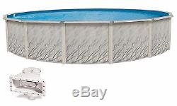 MEADOWS Round Above Ground Steel Wall Swimming Pool-(Choose Liner)