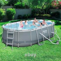 NEW Bestway 14 x 8x2 x 39.5 Oval Frame Swimming Pool Above Ground
