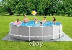 NEW Intex 15ft X 48in Prism Frame Premium Above Ground Pool Set