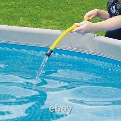 NEW Summer Waves 14ft Elite Frame Pool with Filter, Pump, Cover, & Ladder