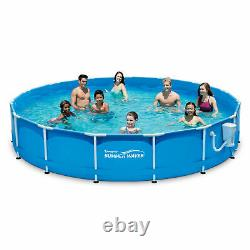 NEW Summer Waves 15 ft x 33 in Active Frame Pool with Filter Pump SHIPS TODAY
