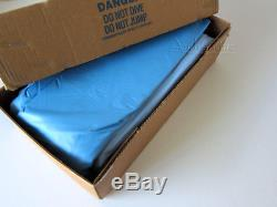 New 16' Round Blue Shimmer Above Ground Replacement Vinyl Swimming Pool Liner