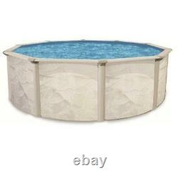 Oceania Weekender 15' Round Above Ground Pool Wall & Frame (No Liner) Oceania