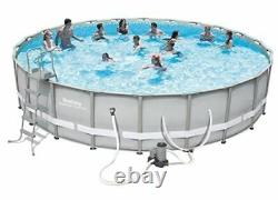 One brand NEW LINER for Bestway or Coleman pool 22' x 52 deep Gray color