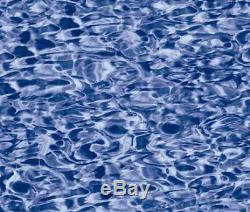 Overlap 33ft Round Swirl 20yr Above Ground Swimming Pool Liner