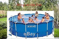 Oversized Above Ground Swimming Pool Backyard Round Pools Portable Liner Kit Fun