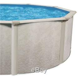 Phoenix 18'x52 Round Steel Frame Above Ground Swimming Pool witho Liner(Open Box)