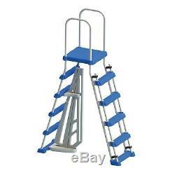 Phoenix 21ft x 52in Above Ground Pool + Filter Pump + Ladder + Liner + Skimmer