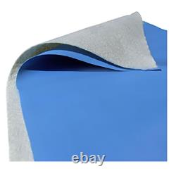 Pre-Cut Liner Pad for 24 ft. Round Above Ground Pool protector bottom floor mat