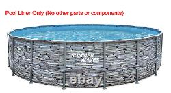 Replacement Liner for 18' x 48 Elite Frame Pools by Summer Waves P40018481099
