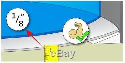 Rhino Pad 21'x41' Ft Oval Aboveground Swimming Pool Liner Shield Protector