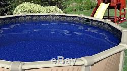 Round & Oval Above Ground Manor Swimming Pool Unibead Liner with Gasket Kit