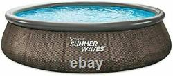 Summer Waves 14' x 36 Quick Set Above Ground Swimming Pool WITH FILTER PUMP NEW