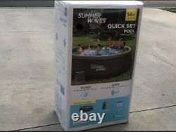 Summer Waves 14x36 Quick Set Above Ground Swimming Pool with Filter Pump NEW