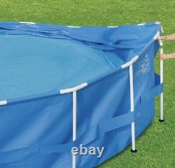 Summer Waves 15 ft Active Metal Frame Above Ground Pool with Filter Pump NEW