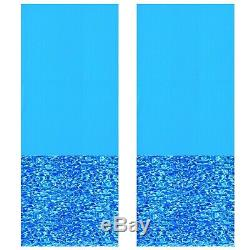 Swimline 24 Foot Round Above Ground Swimming Pool Wall Overlap Liner (2 Pack)