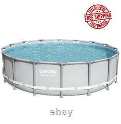 Swimming Pool 16' x 48 Bestway Power Steel Set with Pump Ladder & Cover Brand NEW